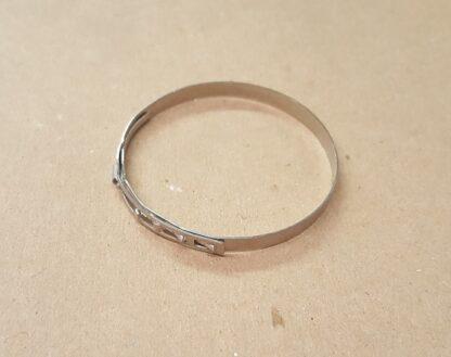 Low Profile Metal Strap 52.5mm x 5mm width